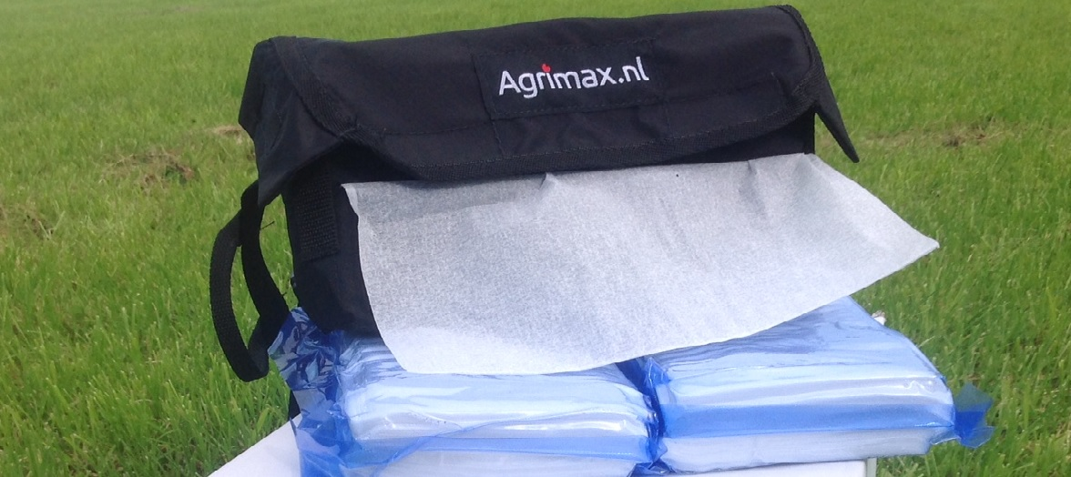 Agrimax Diary towel wet